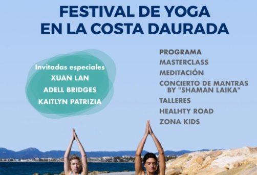 Participació al Salou Yoga Festival