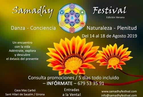 Samadhy Festival 3era Edición / Summer Edition