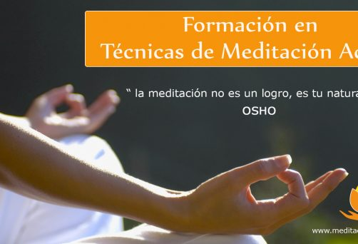 Formación en Técnicas de Meditación Activa y Pasiva F.T.M.A.P. 2019-2020 / Mataró